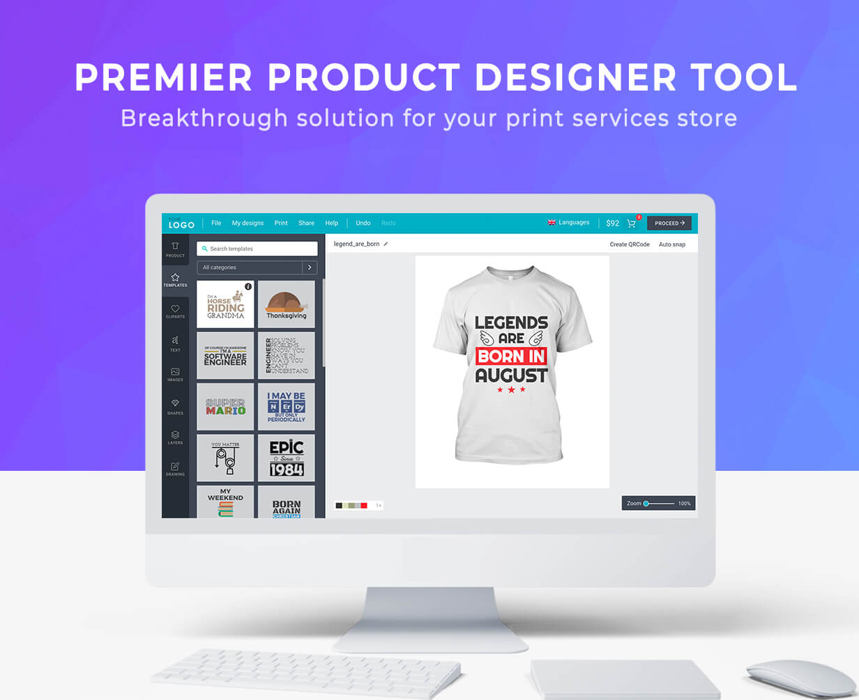 Product Designer for WooCommerce WordPress | LUMISE.COM 6