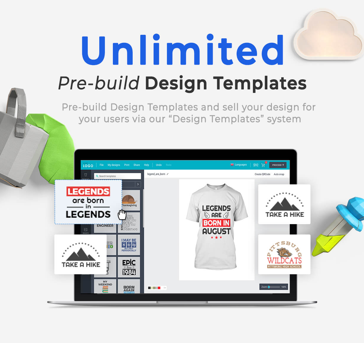 Product Designer for WooCommerce WordPress | LUMISE.COM 15