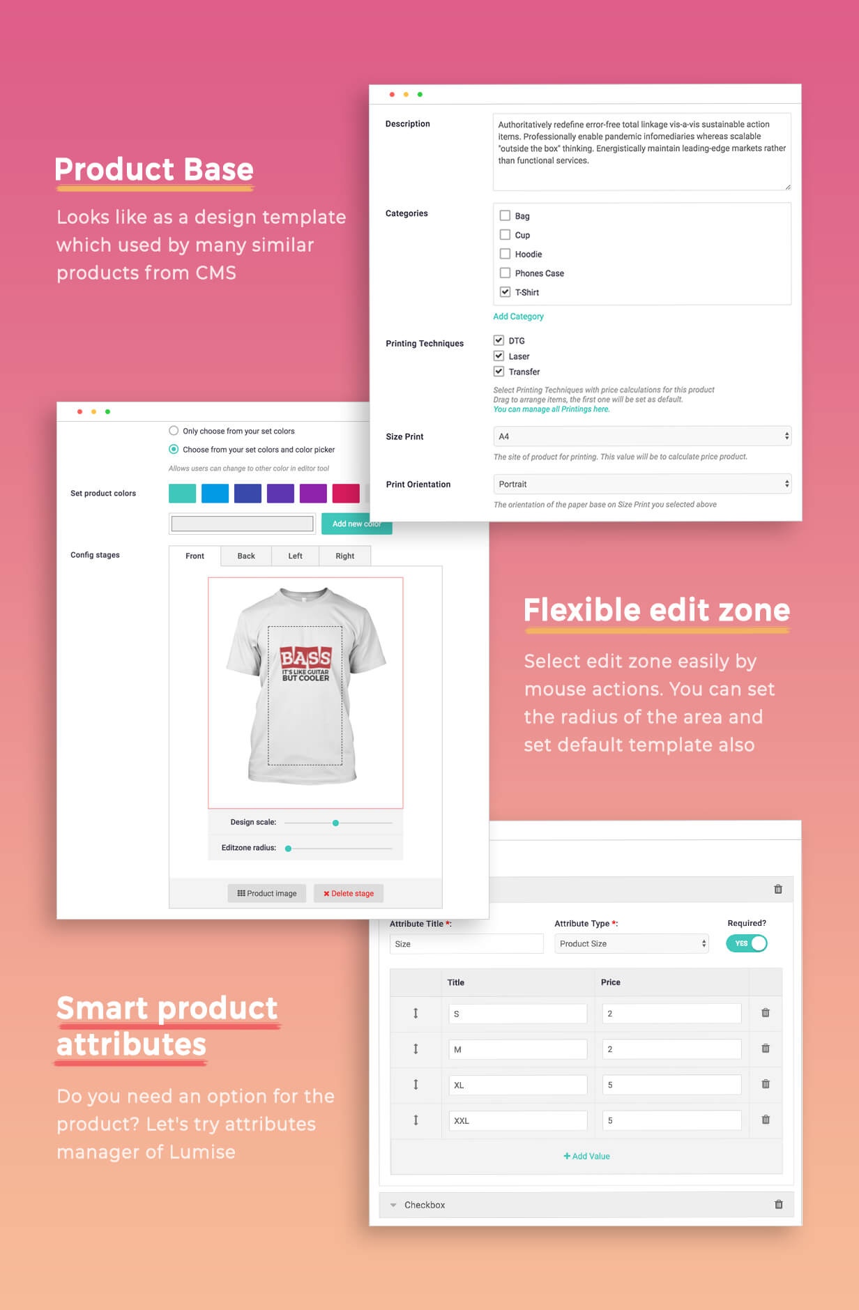 Product Designer for WooCommerce WordPress | Lumise - 21