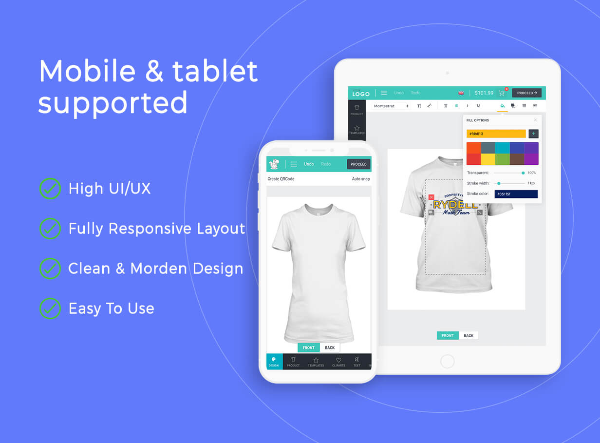 Product Designer for WooCommerce WordPress | Lumise - 22