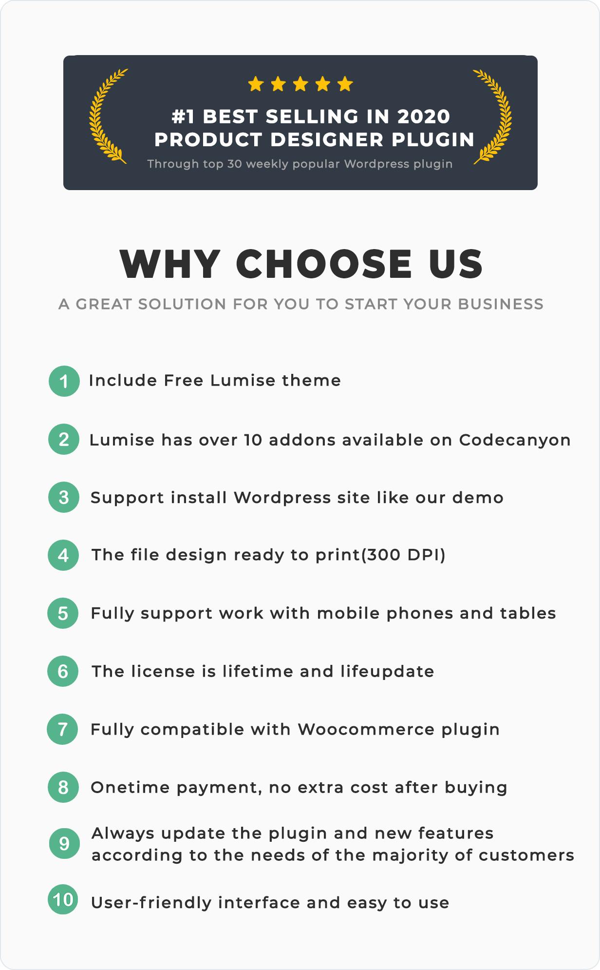 Product Designer for WooCommerce WordPress | Lumise - 5